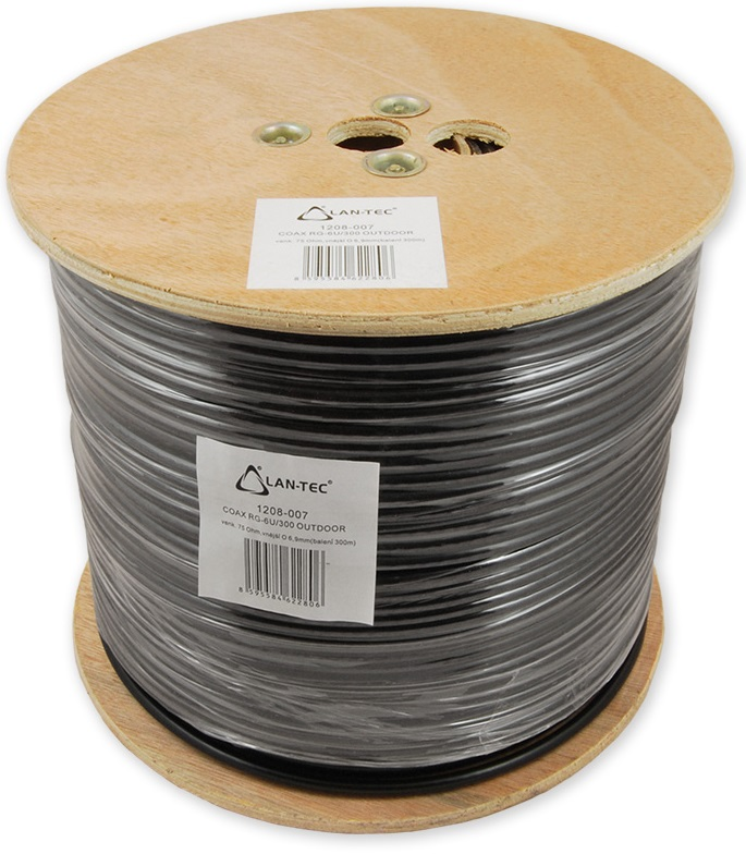 COAX RG-6U/300m OUTDOOR